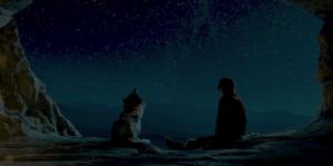 映画アルファのケダとアルファと星空