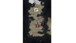 ゲームオブスローンズシーズン7の地図