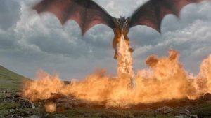 ゲームオブスローンズシーズン7のドラゴン