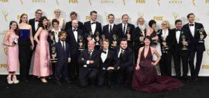 ゲームオブスローンズがエミー賞を受賞