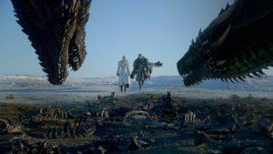 ゲームオブスローンズのドラゴン