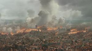 ゲームオブスローンズシーズン8のキングズランディングが火の海