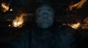 ゲームオブスローンズシーズン8の死んだジョラー