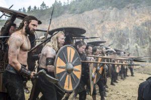 ヴァイキングの戦闘シーン