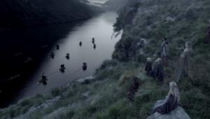 ヴァイキングの出港