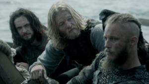 ヴァイキングのラグナルとアセルスタンよトルステン