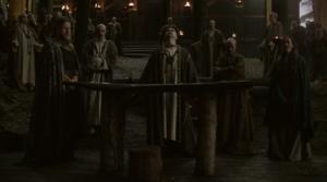 ヴァイキングのシーズン1の生贄の儀式